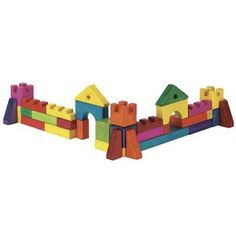 Buy Woodworking Project Paper Plan to Build Playtime Building Blocks at Woodcraft.com