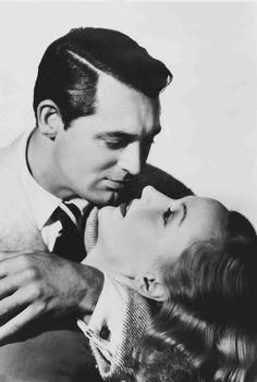 Cary Grant with Carole Lombard  from In Name Only, 1939