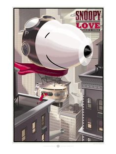 Some incredible architectural artworx of our favorite beagle Snoopy by Laurent Durieux @ darkhallmansion.com. These Valentine tributes to Charles M. Schulz are available @ darkhallmansionstore.com.