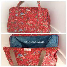 Bolsa de viagem # Weekender Bag # modelo de ferrinho.