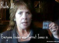Everyone knows who Harriet Jones is. :)