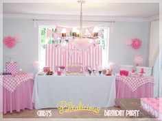 "Stylish Childrens Parties: ""Pinkalicious""-inspired Birthday Parties"