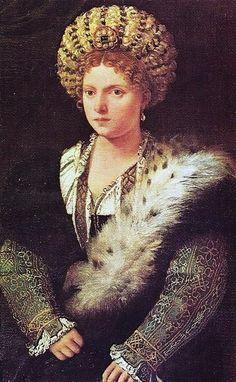 Titian (1490-1576) Isabella d'Este