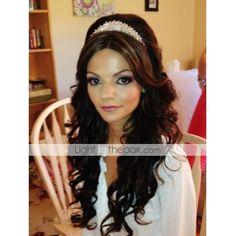 Gorgeous Alloy With Rhinestones Wedding Bridal Tiara
