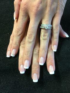 Kupa acrylic nails. French design #snipzsalonmandeville #acrylicnailsmandeville #frenchnailsmandeville