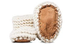 Wool & Salmon Skin House Shoes (Baby)