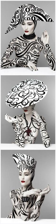 Serge Lutens inspired, re-created by Kabuki {shengsaw.blogspot.com}.