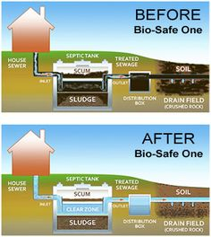 Septic Tank Treatment : Bio-Safe One: B. You can use a water tank!