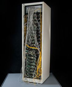 Google 'corkboard' Server built in 1999, used by Larry Page and Sergei Brin to launch the Google empire