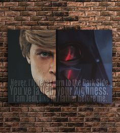 This is great art for quotes admires. My prints will help you remember daily wisdoms and sicrets of success from famous people. Hope it will inspire you. Price of prints depends on size. We send every print rolled in a sturdy tube, except of A5 ( 6'' x 8'' and A4 8'' x 12'').  #starwars #darthvader #lukeskywalker #skywalker #starwars7 #theforceawakens #battlefront #darkside #print #poster #art #decor #design #colorful #quotes #movie #wallart #gift #men #women #boys #girls #home #illustration