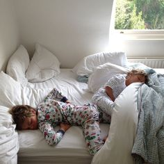 Do your children share a bed? Interesting discussion on the blog!