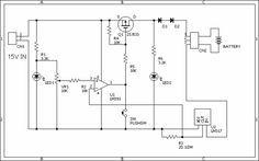 LM317 Li Ion Batteries Fast Charger Circuit lityum iyon pil sarj