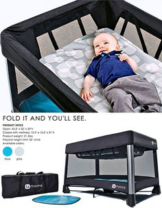 need this breeze pack and play from 4 moms!