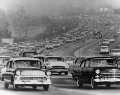 Traffic Scene, Los Angeles, 1961
