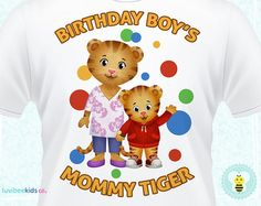 Daniel Tiger Costume Appearance Birthday Party Fun