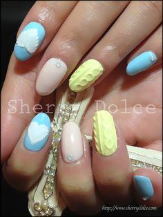 #nail #nails #nailart #unha #unhas #unhasdecoradas #pastel