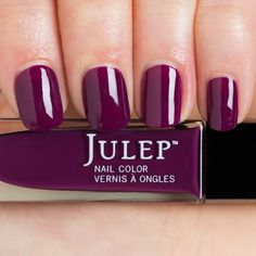 Thumbnail swatch of Boysenberry Crème Nail Polish julep- Beverly