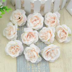 10 pcs/lot Mini Roses Heads Buatan Sutra Untuk Dekorasi Pernikahan Partai Palsu Scrapbooking Bunga Karangan Bunga Aksesoris Rumah