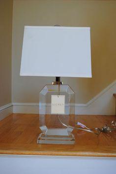 Ralph Lauren Noble Estate Vase Lamp Beautiful Crystal