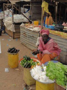 Calles de Gambia. Proyecto de voluntariado en Gambia