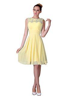 Miya Short Prom Dress Bridesmaid Gowns Evening Cocktail Dresses Size 26W Yellow Miya http://www.amazon.com/dp/B00WWAAII0/ref=cm_sw_r_pi_dp_OK8yvb1JGV848
