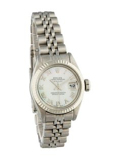 Rolex Ladies Datejust Watch with mother-of-pearl dial
