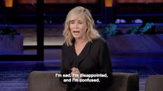 New party member! Tags: sad confused chelsea chelsea handler disappointed chelsea show