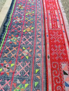 Hmong batik applique