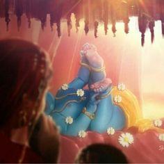 Mahabharatham - The Great Indian Epic. Krishna Leela, Radha Krishna Love, Krishna Radha, Hanuman, Lord Krishna Images, Radha Krishna Pictures, Krishna Photos, Little Krishna, Cute Krishna