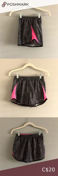 Loose Nike Shorts - Grey/Pink Cheetah Print In Great Condition Kids Large, would fit a ladies XS Nike Bottoms Shorts Girls Nike Shorts, Nike Pro Shorts, Nike Athletic Shorts, Gym Shorts, Kids Shorts, Long Shorts, Running Shorts, Workout Shorts, Nikes Girl