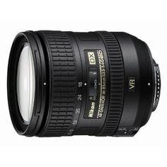 Nikon 16-85mm f/3.5-5.6G AF-S DX ED VR Nikkor Wide-Angle Telephoto Zoom Lens for Nikon DSLR Cameras