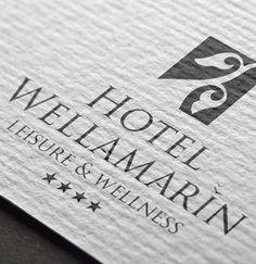 Hotel Wellamarin logo Web Design, Logo Design, Graphic Design, Branding, Logos, Design Web, Brand Management, Logo, Identity Branding
