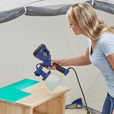 HVLP Sprayers - HomeRight Hvlp Paint Sprayer, Best Paint Sprayer, Paint Thinner, Green Tips, Painting Tips, Painting Styles, Spray Painting, Painting Techniques, Milk Paint