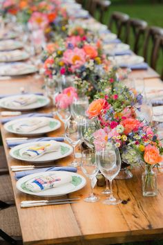 Rustic meets modern at an AMAZING Maryland farm wedding. {Photo: Rodney Bailey}