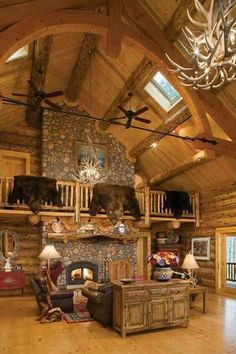 This is a GREAT room. #cabin