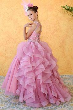 Debutante ball gown