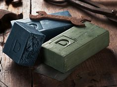 """This manly soap, discovered by The Grommet, is a """"big ass brick"""" of soap that is 3x larger than everyday bars, based on the soap that was drop shipped to GIs."""