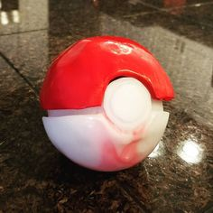 My son was begging me to play pokemon with him the last couple nights but he kept saying that he didn't have a pokeball to catch any pokemon in so last night I threw one together for him :) It's not perfect but it turned out pretty decent for a quick nights work! :) #cosplay #cosplayer #comiccon #slccomiccon #thermoplastics #pokemon #pokemongo #gottacatchemall #pokeball #pokeballs #ashketchum #pollyplastics