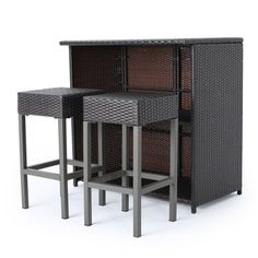 Furniture Of America Stelly Grey 3 Piece Outdoor Dining Set By Furniture Of  America   Dining Sets, Outdoor Furniture And Patio Dining Sets