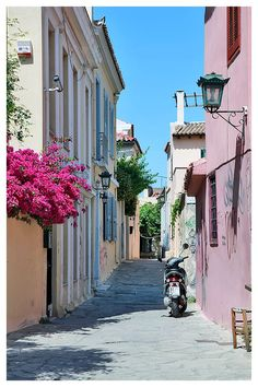 Greece, Street by Natalia Antipas