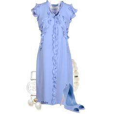 Blue & White ..., created by mrsbro on Polyvore