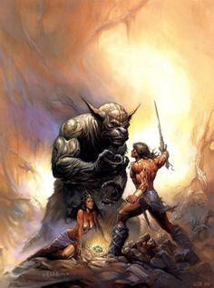 Conan vs Créature