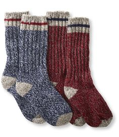 "Adults' Merino Wool Ragg Socks, 12"" 2-Pack: Socks 