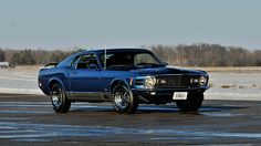 1970 Ford Mustang Mach 1 Fastback 351/300 HP, 4-Speed presented as lot R101. #Mecum #Indy #cars