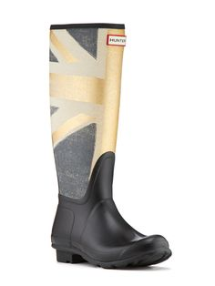 Original British Wellington Boot. I LOVE the Union Jack these are so me.