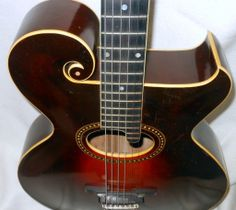 1920's Gibson scroll acoustic