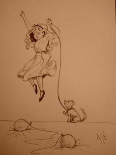 Lead Balloon Helium Girl     By Kai