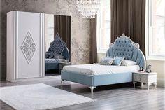 EMIRGAN Furniture Styles, Luxury Furniture, Bedroom Furniture, Beige Living Rooms, Stylish Beds, Home Trends, Bedroom Sets, Bed Design, Live