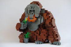 Orangutan: A LEGO® creation by The Actionfigure : MOCpages.com