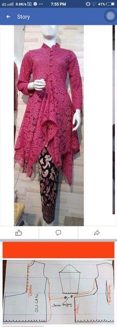 Model Kebaya Brokat Modern, Kebaya Modern Hijab, Kebaya Hijab, Kebaya Muslim, Kebaya Lace, Kebaya Dress, Dress Pesta, Blouse Batik, Batik Dress